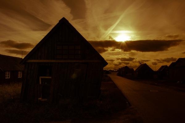 Solnedgang Hvide Sande